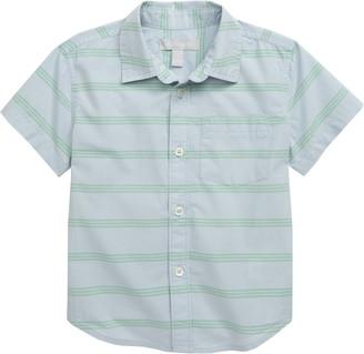 Nordstrom Short Sleeve Poplin Shirt