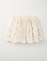 Ric Rac Tulle Skirt Gold Sequin Spot Girls Boden