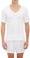 Zimmerli Men's Sea Island V-Neck Tee
