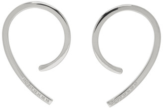Maison Margiela Silver Engraved Ear Cuff Set