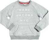 Little Marc Jacobs Logo Printed Cotton Sweatshirt