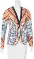 Clover Canyon Printed Fitted Blazer