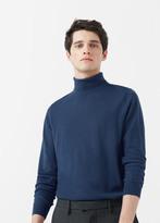 MANGO MAN Turtle Neck Wool Sweater