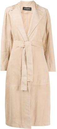 Simonetta Ravizza Lilium suede-effect coat