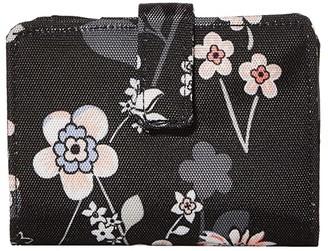 Vera Bradley Lighten Up RFID Small Wallet (Holland Bouquet) Wallet Handbags