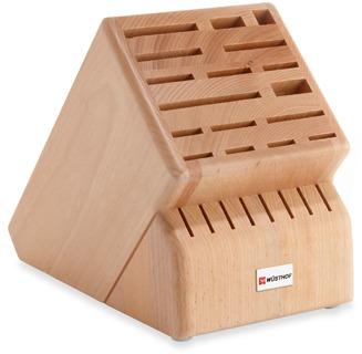 Wusthof 25-Slot Wood Knife Block