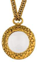 Chanel Magnifying Loupe Pendant Necklace