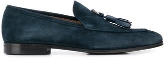 Salvatore Ferragamo Low Heel Tassel Detail Loafers