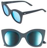 Le Specs Women's 'Savanna' 51Mm Sunglasses - Navy Rubber