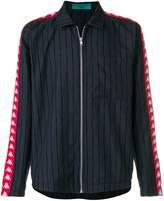 Paura Danilo x Kappa striped side band shirt jacket
