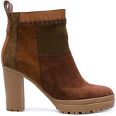 See by Chloe patchwork ankle boots - women - Leather/Suede/rubber - 36