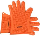 Flamen Premium Heat and Water Resistant BBQ and Kitchen Glove Set