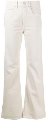 Etoile Isabel Marant Flared High-Rise Jeans