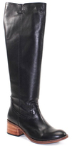 Diba Black Wind Rider Leather Boot