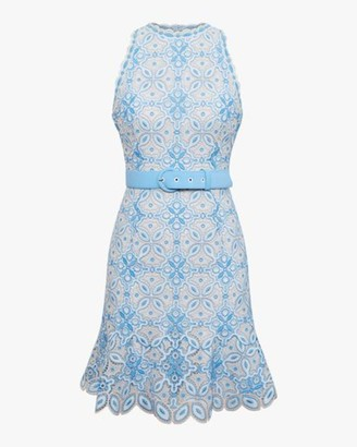 Jonathan Simkhai Charlotte Guipure Lace Mini Dress