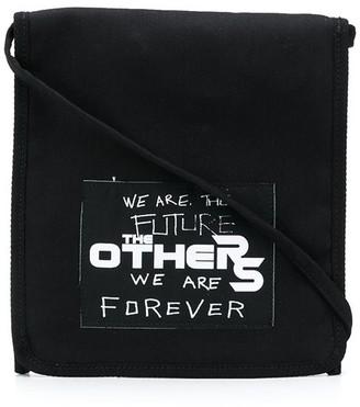 Raf Simons Logo Patch Crossbody Bag