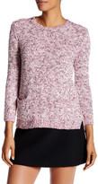 Rebecca Taylor Tweedy Mixed Yarn Pullover Sweater