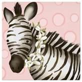 Oopsy Daisy Fine Art For Kids Zoey the Zebra Canvas Wall Art
