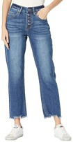 Thumbnail for your product : Rock and Roll Cowgirl High-Rise Cropped in Medium Wash WSC8230