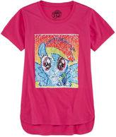 Hasbro Crew Neck Short Sleeve My Little Pony Blouse - Big Kid Girls