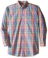 Wrangler Men's Tall Size 20x Long Sleeve Button Woven Shirt