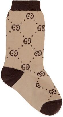 Gucci Children's cotton GG socks