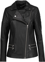 Muu Baa Muubaa Boxkite leather biker jacket