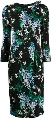 Goat Jenna wisteria print dress