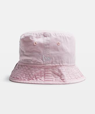 New Era NY Yankees Bucket Hat Washed Pink/White