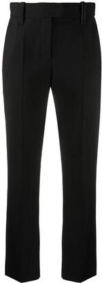 Brunello Cucinelli Cropped Straight-Leg Trousers