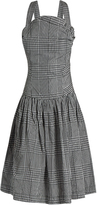 Vivienne Westwood Hali checked taffeta dress