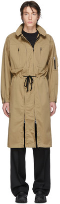 BEIGE Random Identities Versatile Dress Coat