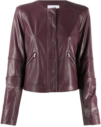 Patrizia Pepe Faux Leather Biker Jacket