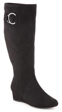 Impo Gitali Wide Calf Wedge Boot