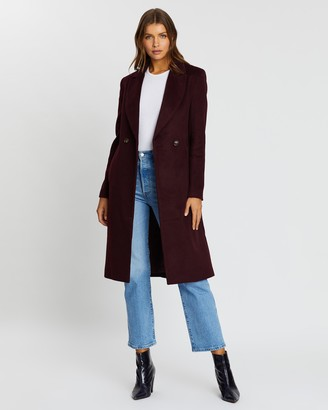 Atmos & Here Amelia Wool Blend Coat