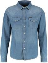 Lee Western Slim Fit Shirt Blue Dusk