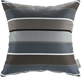 Modway Patio Stripe Indoor/Outdoor Throw Pillow