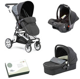 Baby Elegance Beep Twist Travel System - Black