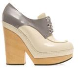 Jil Sander Bi-colour shoe boots