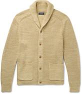 Polo Ralph Lauren Shawl-Collar Cotton and Linen-Blend Cardigan