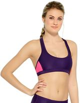 Champion Women's Colorblock Racerback Bikini Top