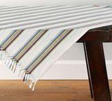 Pottery Barn Hampshire Stripe Table Throw