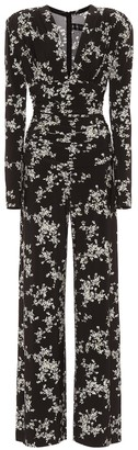 Norma Kamali Floral jersey jumpsuit