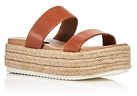 Aqua Women's Ayden Platform Espadrille Slide Sandals - 100% Exclusive