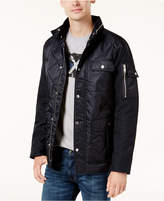 Armani Exchange Men's Quilted Satin Jacket