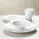 Crate & Barrel White Pearl 4-Piece Place Setting