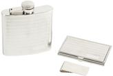 Bey-Berk Stainless Steel Flask Set (3 PC)