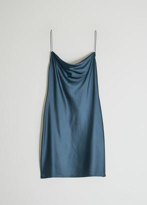 Stelen Women's Daphne Slip Dress in Slate, Size Small