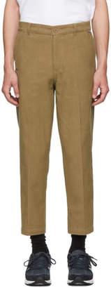Dickies Construct SSENSE Exclusive Brown Straight Slim Corduroy Pants