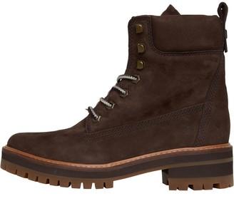 Timberland Womens Courmayeur Valley Boots Dark Walnut